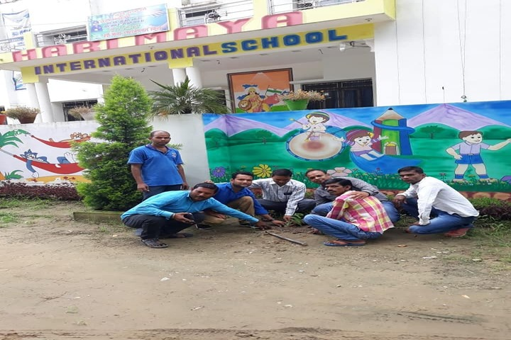 Hari Maya International School-Tree Plantation