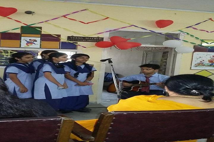 Harrow School-Events singing