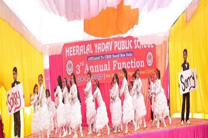 Heera Lal Yadav Public School-Annual Function