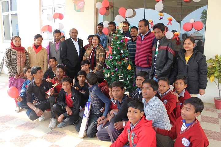 Heera Lal Yadav Public School-Christmas Celebrations