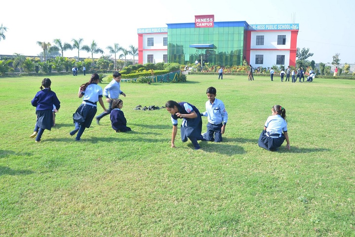 Hi Ness Public School-Sports kho kho