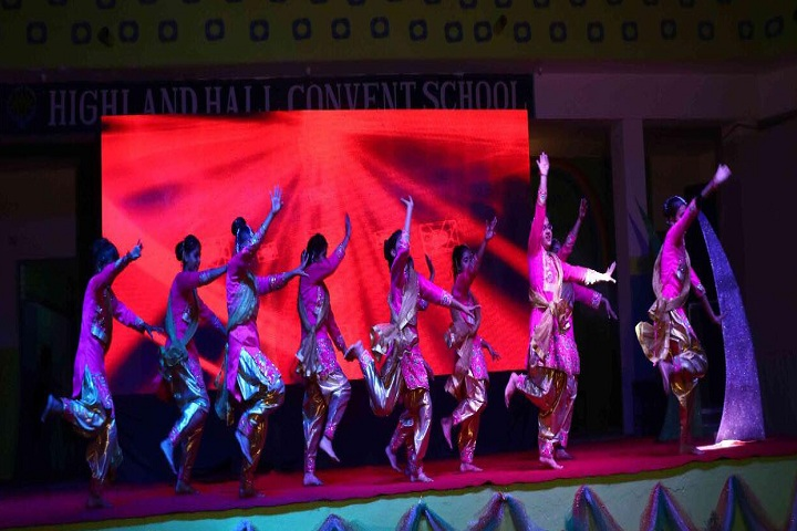 Highland Hall Convent School-Events dance