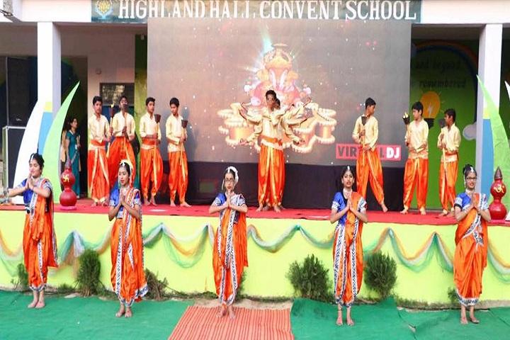 Highland Hall Convent School-Events