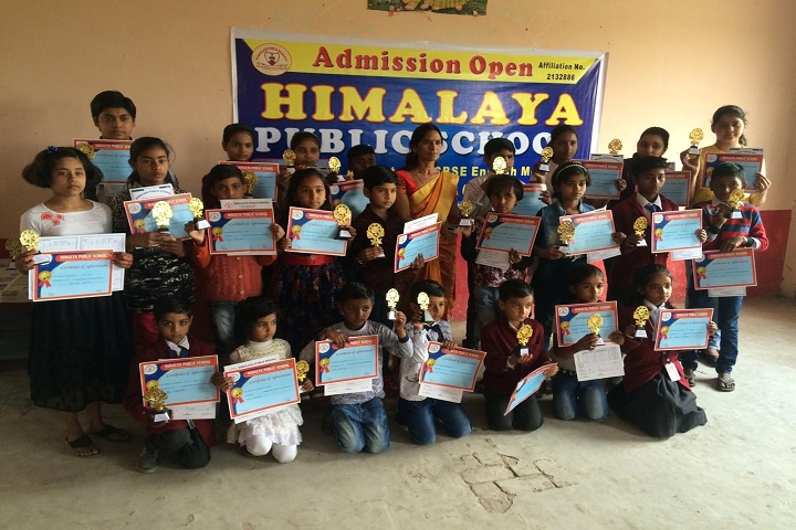 Himalaya Public School-Others certificate