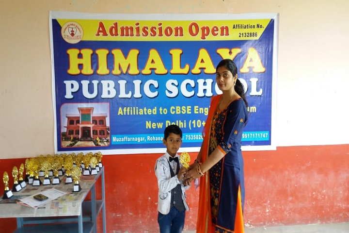 Himalaya Public School-Others prize