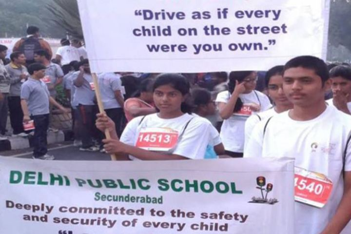 Delhi Public School-Traffic Awareness