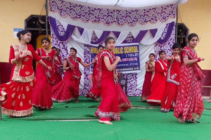 Himalayan Public School-Events dance