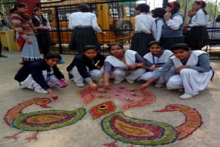 Himalayan Public School-Events rangoli