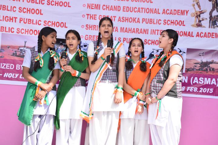 Holy Light Public School-Singing-Performance