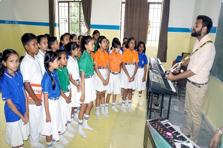 Holy Public School-Music Room