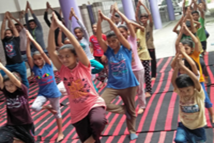 India Today Convent Academy-Yoga-Day1