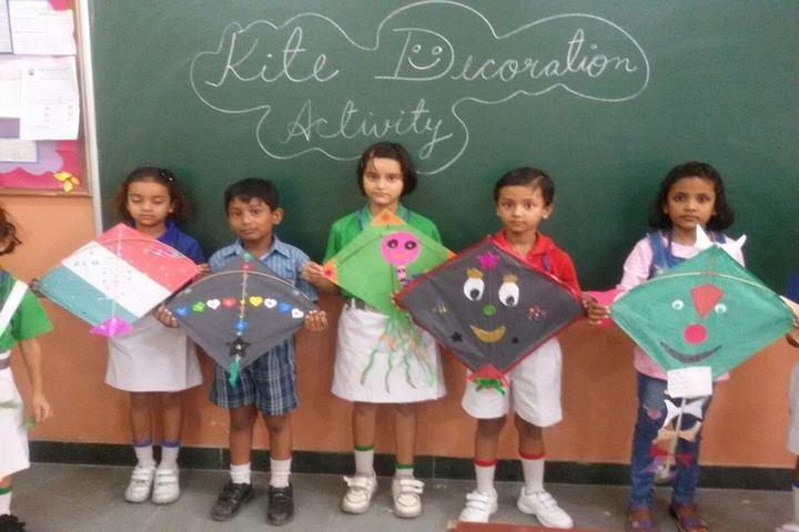 Indirapuram Public School-Kite-Activity