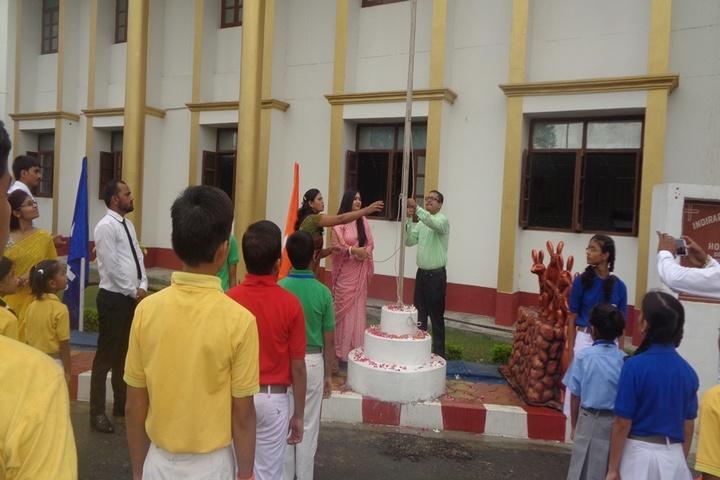 Indirapuram Public School-Flag-Hosting