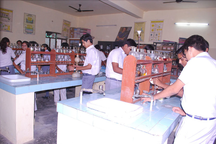 International Centre English School-Chemistry Lab