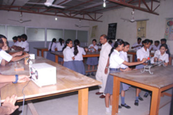 International Centre English School-Physic Lab