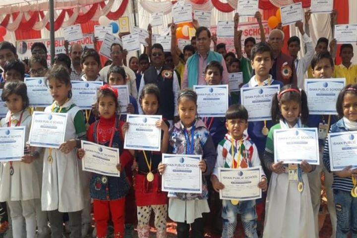 Ishan Public School-Certificate
