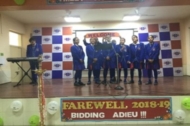 J P International School-Farewell party