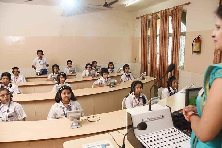 J P International School-Smart Classroom