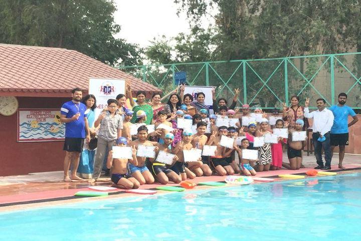 J P International School-Swimming pool