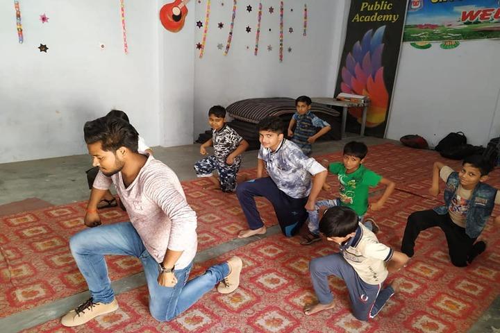 J P Public Academy-Dance room