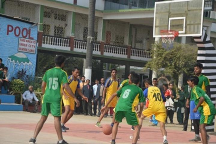 ST Dominic Savios High School-Basket Ball Court