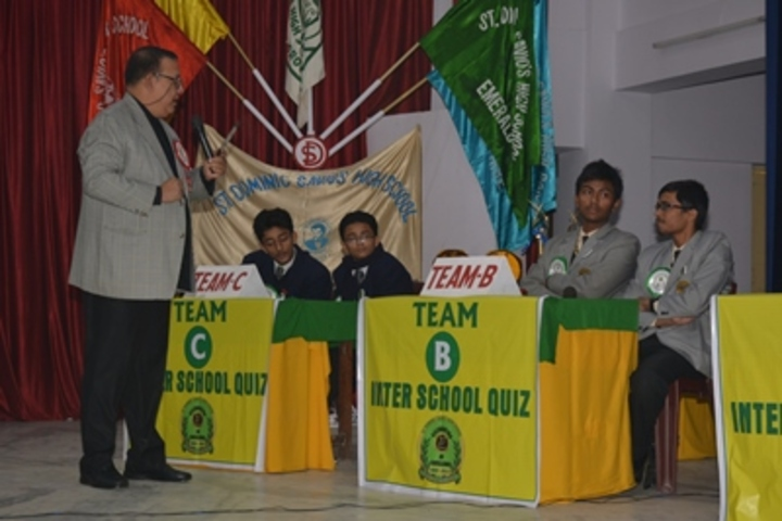 ST Dominic Savios High School-Quiz Competition