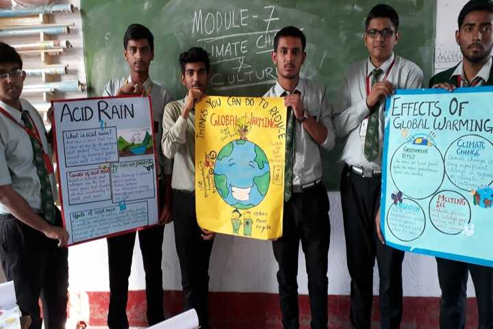 ST Dominic Savios High School-Students Project