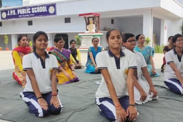 J P S Public School-Yoga-Class