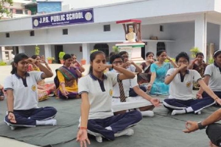 J P S Public School-Yoga