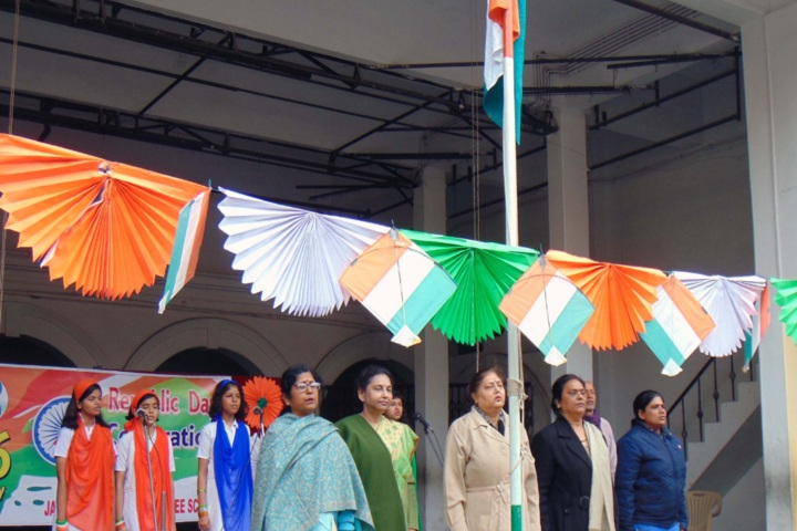 Jagat Taran Golden Jubilee School-Republic Day