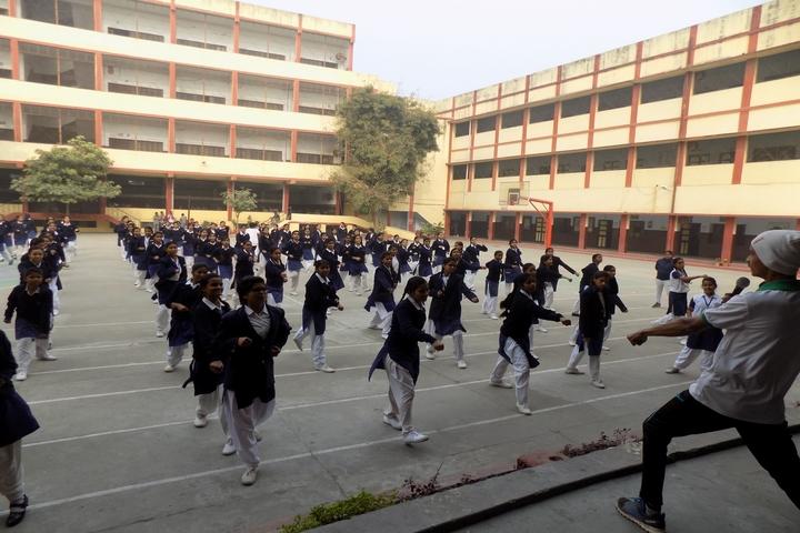 Jagat Taran Golden Jubilee School-Self-Defence-Camp