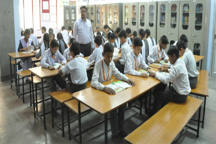Jai Narayan Vidya Mandir-Library