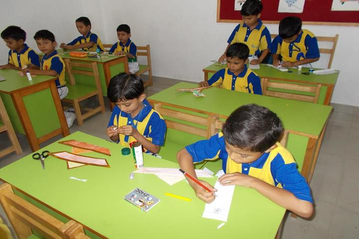 Jai Parvati Global School-Art