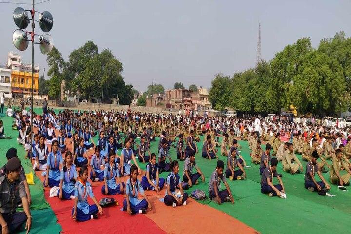 Jaideep Public School-Yoga