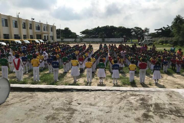 Jaish Public School-Assembly