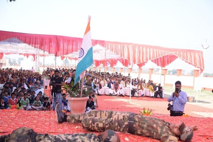 Jamuna Ram Memorial School-Independence day