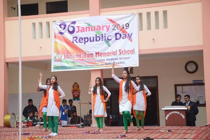 Jamuna Ram Memorial School-Republic day