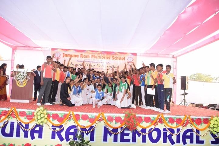 Jamuna Ram Memorial School-Sports day