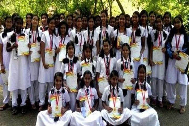 Javahar Navodaya Vidyalaya-Award Receiving