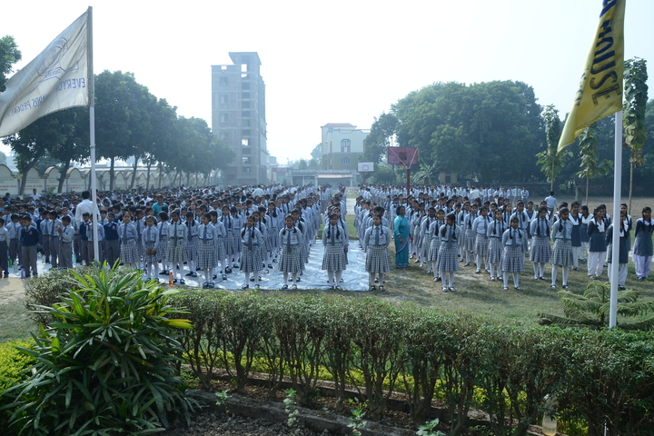 ST Joseph Public School-Assembly