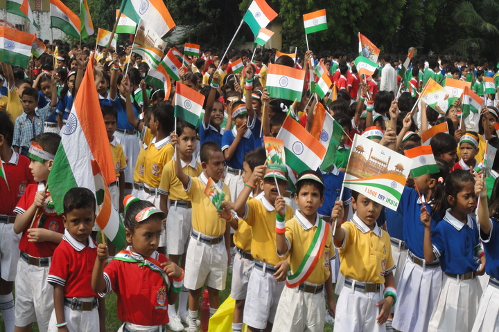 ST Joseph Public School-Independence Day