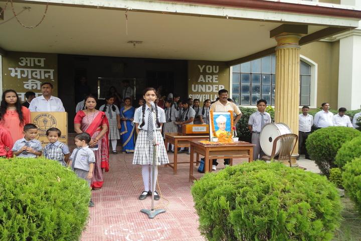 ST Joseph Public School-Student Speech