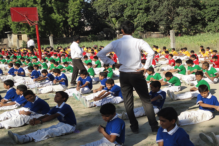 ST Joseph Public School-Yoga