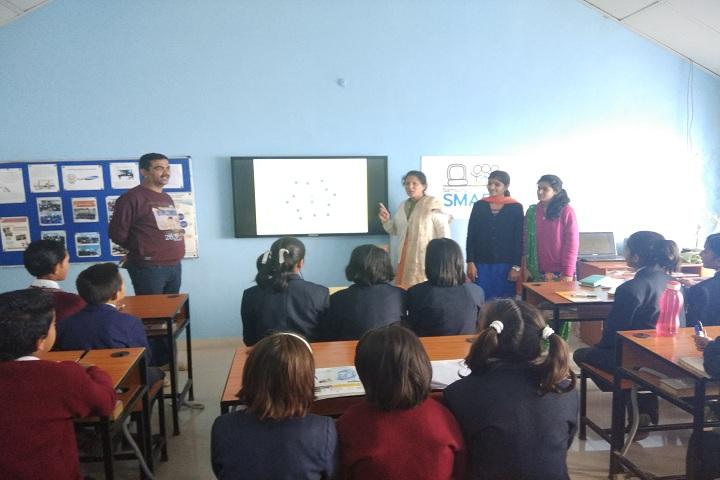 Jawahar Navodaya Vidyalaya-Classroom view