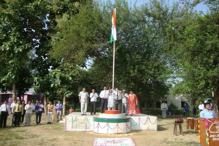 Jawahar Navodaya Vidyalaya-Flag-Hosting