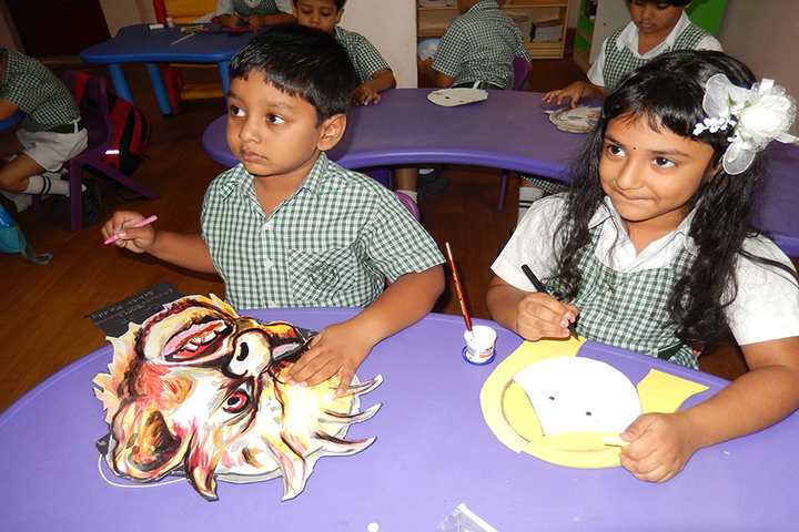 Delhi public School - Painting Activity