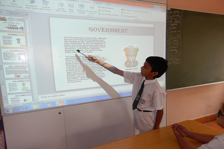 Delhi public School - Smart Classrooms