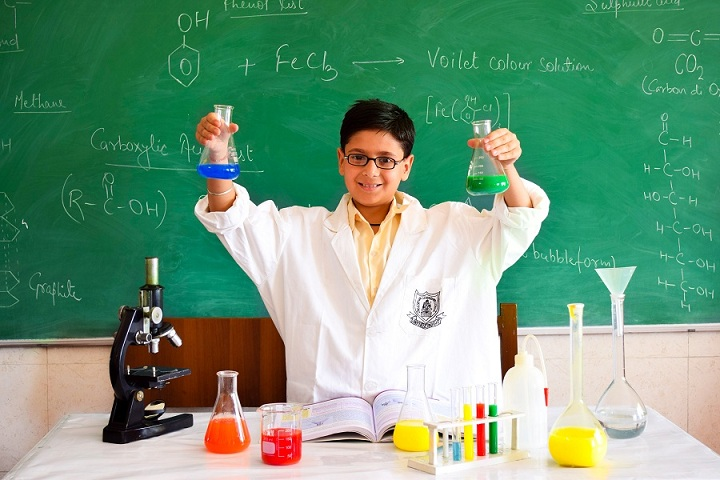 JKG International School-Chemistry Lab