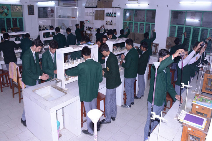 K C M School-Chemistry Lab