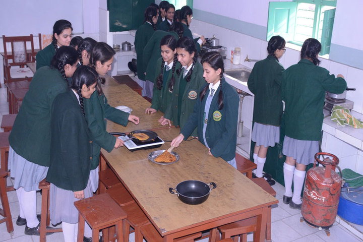 K C M School-Home Science Lab